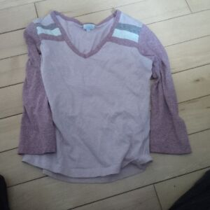 size 8 Girls Long Sleeve Shirts,dress, capri's and tee shirts Kitchener / Waterloo Kitchener Area image 1
