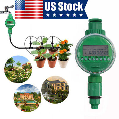 LCD Digital Auto Electronic Garden Tube Irrigation Controller Water Timer System Auto Water Timer