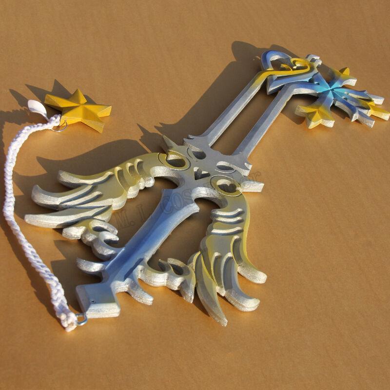Hot High quality Kingdom Hearts Oathkeeper Keyblade PVC Cosplay Accessories 95cm
