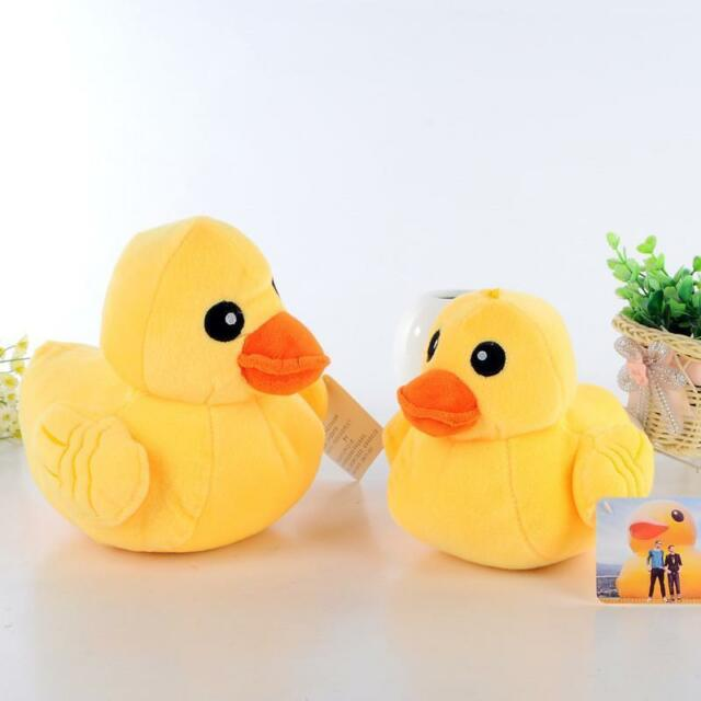 1pcs Chic Dog Pet Puppy Plush Sound Chew Squeaker Squeaky Duck Funny Toys SZ