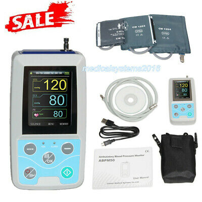 Abpm50 24 Hours Ambulatory Blood Pressure Monitorpc Software3 Cuffs Contec