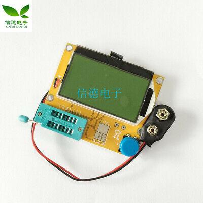 Mega328 Lcr-t4 Transistor Tester Diode Triode Capacitance Esr Meter Mos Pnpnpn