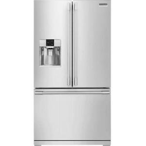 "Frigidaire Professional FPBS2777RF French Door Refrigerator 36"" Thru Door Ice Dispenser 27 cubic ft, Exterior Water Disp"
