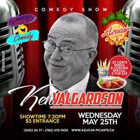 AZUCAR presents Comedy Night with Ken Valgardson