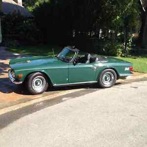 Completely Restored 1971 Triumph TR6