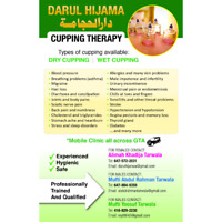 Cupping/Hijama for Males and Females
