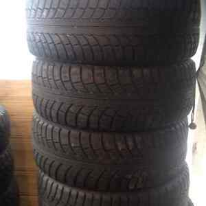 Set of 4 Nord Frost 5 winter tires 205//55/16 West Island Greater Montréal image 2
