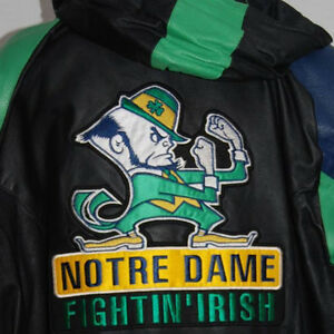Leather Notre-Dame Jacket XL