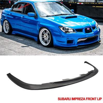 Fits 06-07 Subaru Impreza WRX Sti S204 Front Bumper Lip Spoiler Body Kit PP