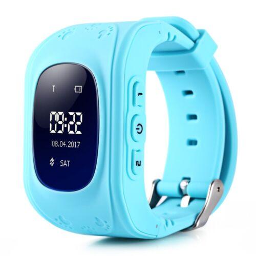 Q50 Bambini GPS TELEFONO SOS Anti Smarrimento OLED Display Orologio da polso