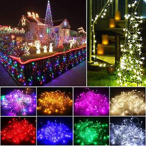 Led Christmas Tree Lights Fairy String Xmas Party Wedding
