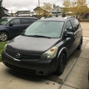2007 Nissan Quest SE (With Remote Starter and Winter Tires)