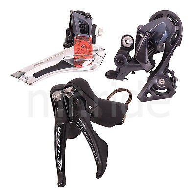 Shimano ULTEGRA R8000 Group 3pcs Road Shifter+Front+Rear Short Cage Derailleur