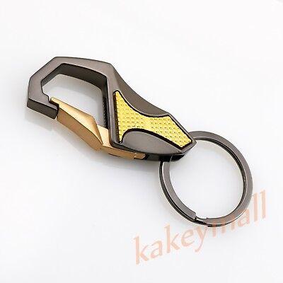Auto Parts Metal Key Ring Chain Holder Box Case Car Fashion Gift Universal Trim
