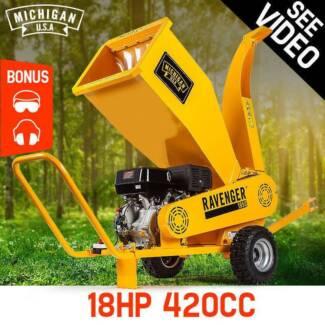 Michigan 18HP Wood Chipper Mulcher Commercial Garden Shredder Mul Homebush Strathfield Area Preview