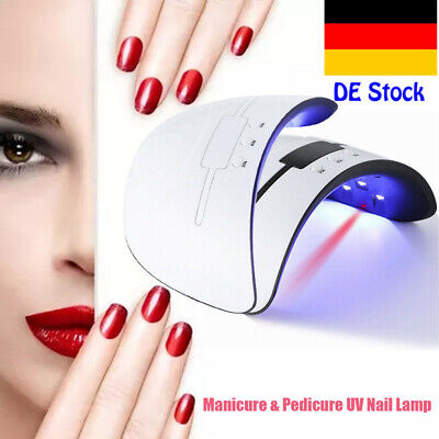 36W  UV-Lampe 12 LED Lichthärtungsgerät Nagel Trockner Gel Dryer mit Sensor (Uv Nagel Lampe)