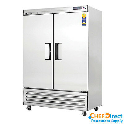Everest Ebr2 54 Double Door Reach-in Refrigerator