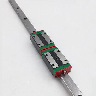 Hiwin Hgr20 20mm Rail Guide 2pc Hgh20ca Rail Carriage Blocks Cnc Router Kit
