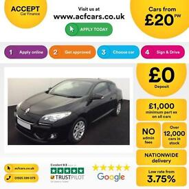 Renault Megane 1.5dCi ( 110bhp ) ( s/s ) 2012MY Dynamique FROM £20 PER WEEK !