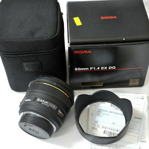 Sigma 50mm 1.4 HSM for nikon