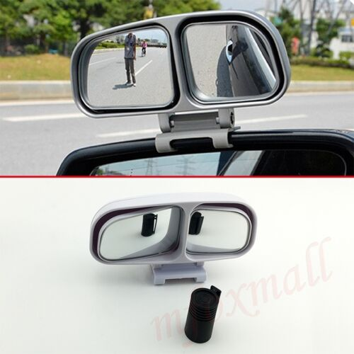 2X Rear View Auxiliary Safety Blind Spot Mirror Wide Angle Convex Car Motor Part