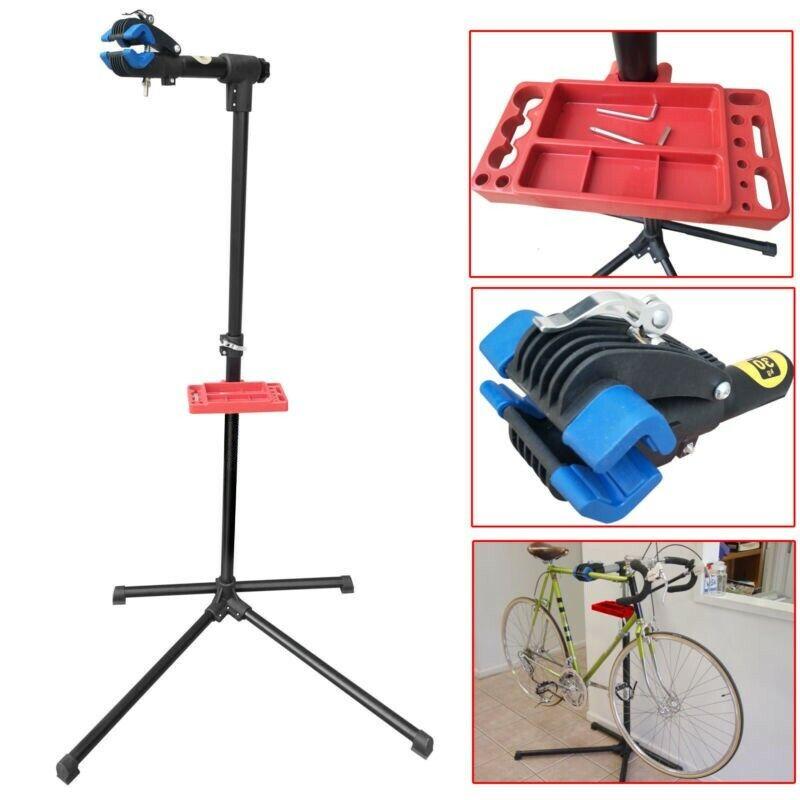 Sahi Bike Repair Stand (Max 66 lbs) - Home Portable Bicycle Mechanics Workstand