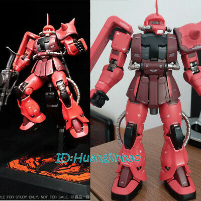 GUNDAM METAL SOILDER MS01 mb Zaku Action Figure Model 1/100 Scale Red Suit Ver. 100 Scale Action Figure