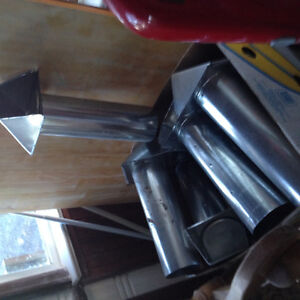 Dryer hose/vent box of 8-Tin-NEW