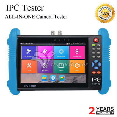 Ipc9800plus Adhs 7 Ip Cctv Tester Monitor Ip Camera Tester 4k Video Testing Oor