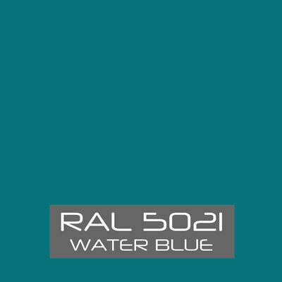Ral 5021 Water Blue Powder Coat Paint - New 1lb