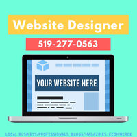 Hi! I Design Websites | Local Business, eCommerce, Blogs & More!