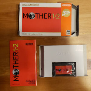 Mother 1+2 GBA Original Japanese in Box