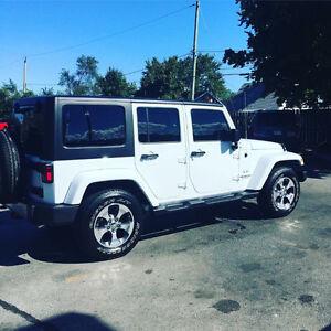 **REDUCED** 2016 Jeep Wrangler Sahara SUV, Crossover
