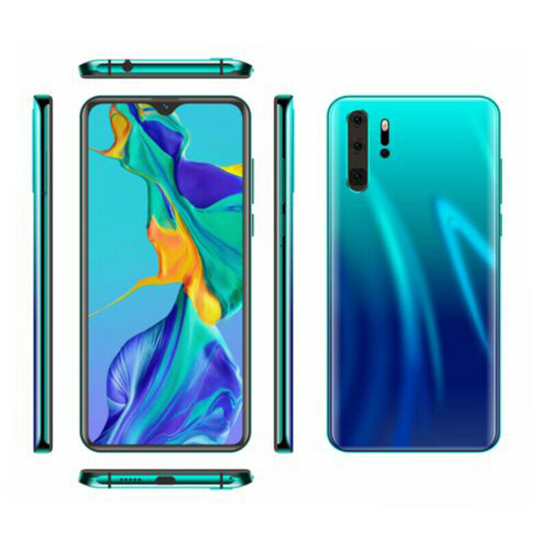 Android Phone - P30 Pro 6+128G HD Smart Mobile phone Face Unlock Android 9.0