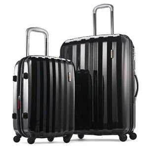 Samsonite Prism 2-Piece Hardside Spinner (20/24) Luggage Set, Bl