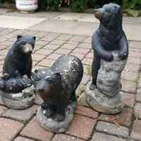 Bear Garden Statues
