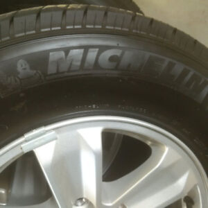 New Michelin Tires and Rims Set