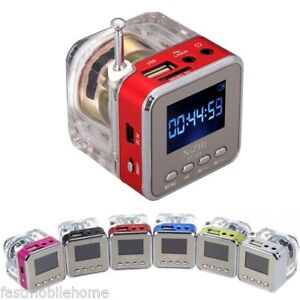 MINI-ALTOPARLANTE-PORTATILE-LCD-MICRO-SD-USB-DISCO-FM-RADIO-PER-MP3-MP4