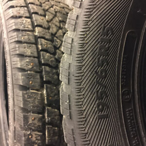 "195/65r15  ""STUDDED winter tires"" $200 firm"