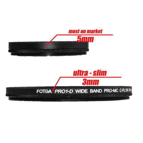 FOTGA 86mm PRO1-D Slim MC CPL Circular Polarizing Multi-Coated Lens Filter 86mm