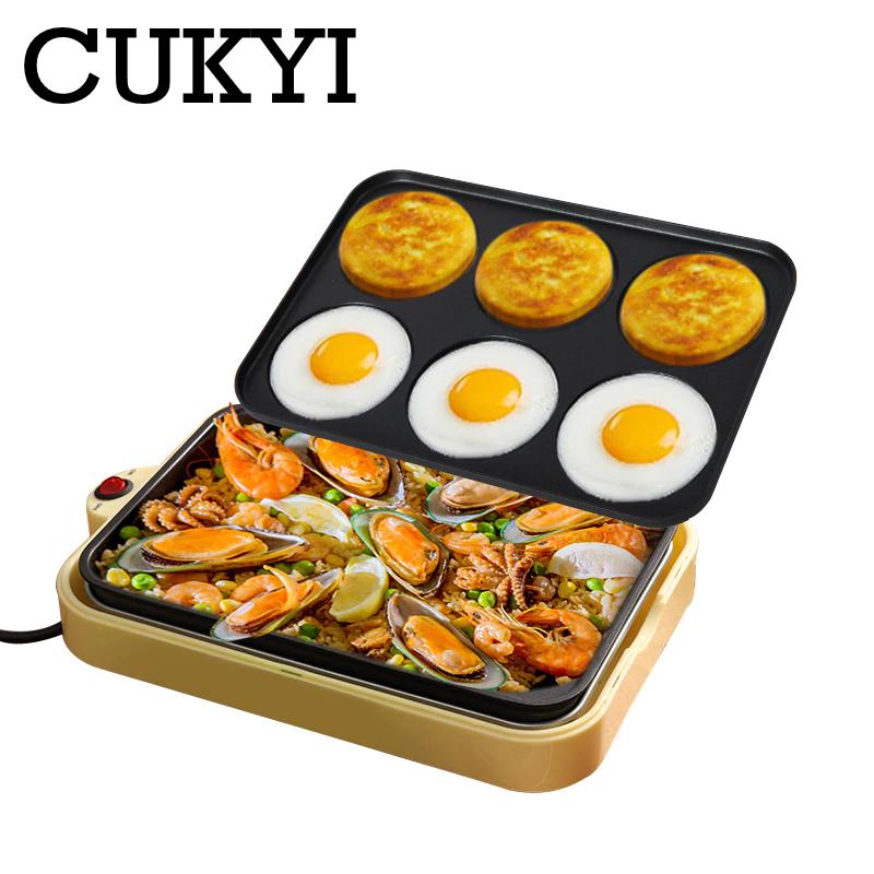 CUKYI Electric egg roasted hamburger machine red bean cake p