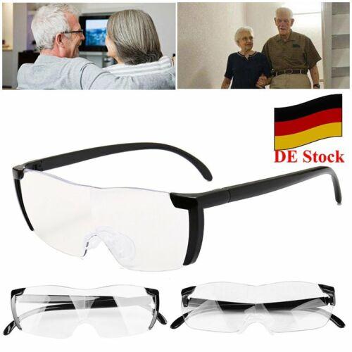 DE Vergrößerungsbrille Lupe 160% Vergrößerung Lupenbrille auf der Nase lesehilfe