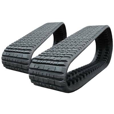 Pair Of Prowler Asv Rc100 Multi-bar Tread Rubber Tracks - 457x101.6x51 - 18