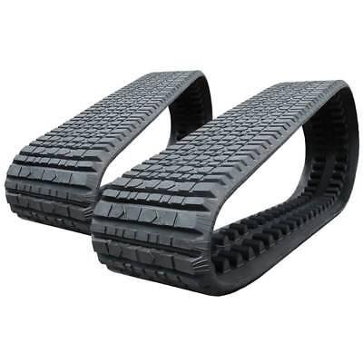 Pair Of Prowler Asv Rc100 Multi-bar Tread Rubber Tracks - 457x101.6x51 - 18