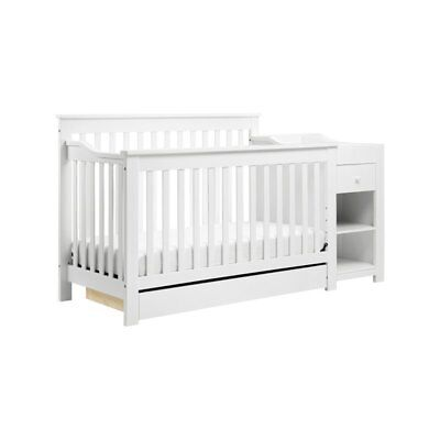 Da Vinci Piedmont 2 Piece 4-in-1 Crib and Changer Set in White