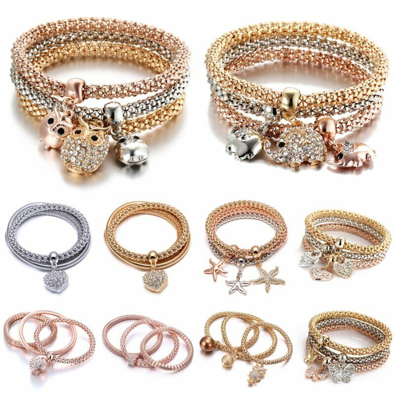 be13d3f45a8 Material: Alloy +Crystal Size: 18cm Elastic to 22cm. Heart Size : 1.5*2cm.  Color: Gold,Silver,Rose Gold Applications: Wedding Party ,Travel ,Party.