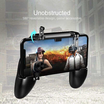 W11+PUBG Mobile Phone Wireless Game Controller Gamepad Joystick iPhone Android a