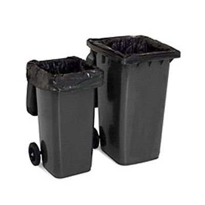 20 x NEW STRONG WHEELIE BIN LINERS REFUSE SACKS BAGS 30x46x54