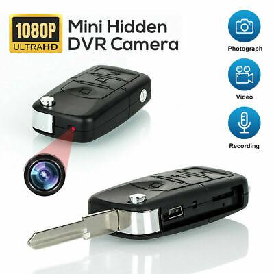 Hidden Cam Camera Mini Key Chain Car Nanny DV DVR Video Audio Recorder HD 1080P Car Key Chain Dvr