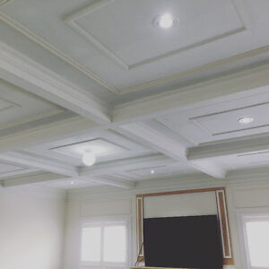 Crown Moulding Coffered Ceiling Wainscoting Baseboard Oakville / Halton Region Toronto (GTA) image 7